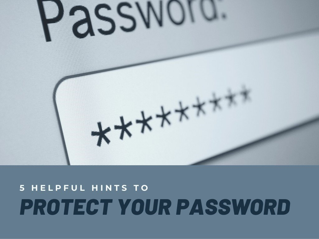 protect your password for cybersecurity